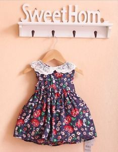 Brand Summer Bohemian Baby Girl Clothing Beautiful Princess Dress for 2 5 Years