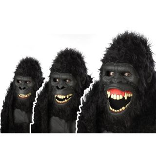 Goin' Ape Gorilla Motion Mask Adult Costume Accessory