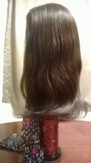 Brown 100 Human Hair Full Wig with Baby Hairs