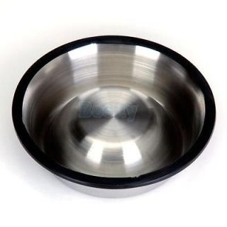 Large Metal Stainless Steel Non Skid Bowl Pet Dog Puppy Cat Feed Bowl Eat Dish