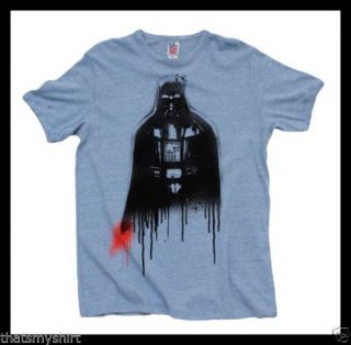 New Authentic Mens Darth Vader Drip Tee Shirt by Junk Food Clothing