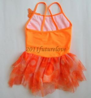 New Girl Birthday Party Leotard Ballet Tutu Dance Costume Skirt Dress SZ5 6Y