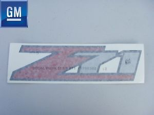 Chevy Silverado GMC Sierra Truck Pick Up GM SUV Z71 Bed Side Decal Sticker New