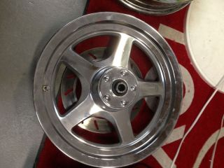 Harley Thunder Star Wheels Chrome Used