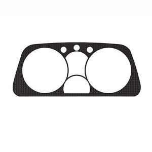 Suzuki Sidekick 89 95 Carbon Fiber Custom Speedometer Dash Gauge Bezel Trim Kit