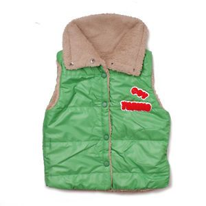 Cute Baby Girls Faux Lamb Fur Vest Warm Winter Outwear Girl Kids Fresh Beautiful