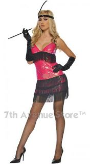 Flapper Girl Dress Adult Womens 1920 Halloween Costume