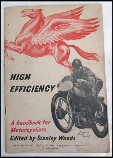 Vintage 1930s Motorcycle Speed Tuning Racing Book Norton Vincent Triumph BSA AJS