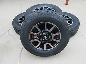 "18"" Toyota Tundra 2014 TRD Factory Wheels Rims and Tires Set of 4"