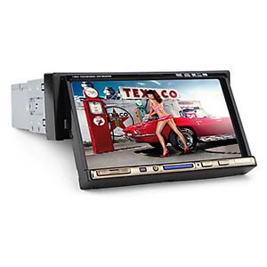 "C1205 Single DIN in Dash 7""LCD TV Touchscreen Bluetooth Car DVD Player Camera"