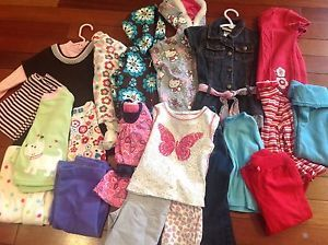Lot of Baby Girl Fall Winter Clothes Gap Childrens Place Carters 2T