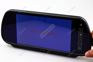 "7"" Digital TFT LCD Auto Car Vehicle Rearview Mirror Video Backup Camera Monitor"