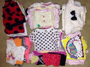 Infant Baby Girl Clothes Lot Size 3 6 6 Months Fall Spring 55 Pcs
