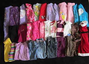 Baby Girl Clothes Lot Winter Fall Outfits Size 3 3T  G11