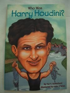 Who Was Harry Houdini Biography Childrens Homeschool