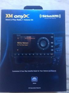 Sirius XM Radio Onyx XDNX1V1 for SiriusXM Car Satellite Radio Vehicle Kit 778890206849