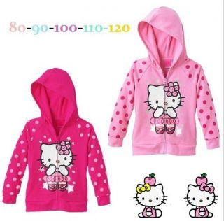 NTW Baby Toddler Girls Hoodie Coat Kids Cut Cartoon T Shirt Coth SZ1 5Y Clothing