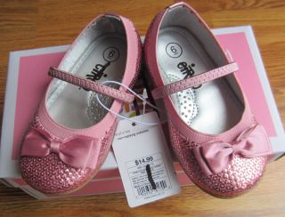 WB Circo Toddler Girls' Sparkle Sequin Pink Dress Shoes
