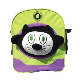 Curious Cat School Playschool Kids Toddler Soft Plush Stuffed Toy Backpack