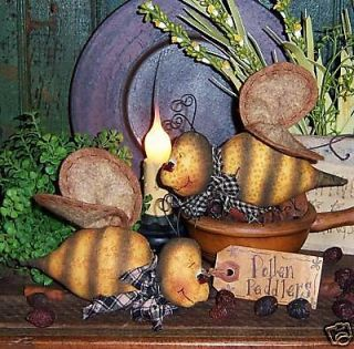 Primitive Bumble Bee Garden Bug Ornie Doll Pattern 483