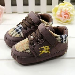 Toddler Baby Boy Crib Walking Shoes Soft Sneakers Newborn to 12 Months CA3128