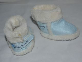 Cute Baby Boy Infant Toddler Winter Shoes Snow Boots Warm Size NB 3 Months
