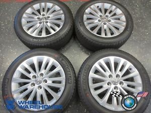 Four 2013 Toyota Avalon Factory 17 Wheels Tires Rims Camry Michelin