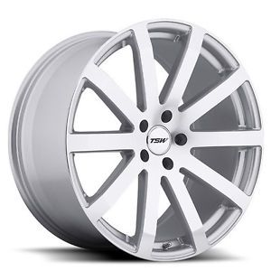 "19"" TSW Brooklands Wheels Rims Fit Toyota Camry Solara Highlander Martix Venza"