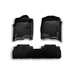 Maxfloormat All Weather Floor Mats Black Set for Nissan Murano A0055 B0055