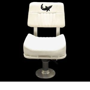 Mako Captains Chair w Garelick Boat Seat Pedestal