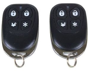 Scytek G20 Car Security Alarm Keyless Entry System with 2 4 Button Remotes