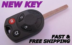 Ford Focus Escape Head Key Keyless Entry Remote Combo Fob Transmitter Car Alarm