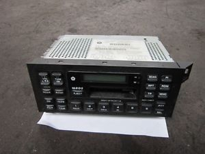 Chrysler Voyager Stereo Radio Tape Cassette Head Player Unit Maybe Jeep No Code