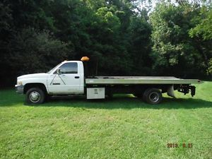 1998 Dodge RAM 3500 Rollback Tow Truck Flatbed