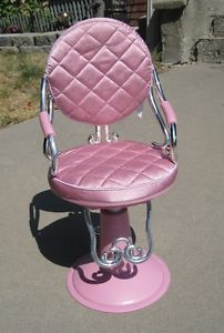 "American Girl Doll Battat Toy Beauty Salon Parlor Chair Pink 18"" Doll"