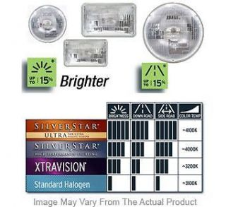 New Sylvania Headlight Lamp Clear Lens Olds SEALED Beam Halogen 34959