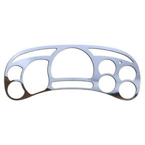Chevy Silverado 03 06 Polished Stainless Gauge Cluster Speedo Dash Bezel Cover