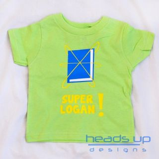 Super Why Personazlied Shirt Boy Girl Toddler Kid Baby Onesie Superwhy Costume