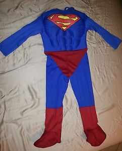 Toddler Superman Costume Muscle Chest Size 18 24 Months