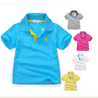 Baby Boys Cotton T Shrits 1 6T Toddler Clothing Polo Shirts 1009