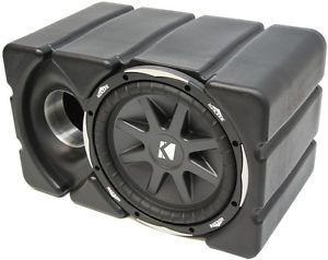 Jeep Wrangler Kicker CVX10 Custom Fit Rockford Car Audio Amplifier Sub Enclosure