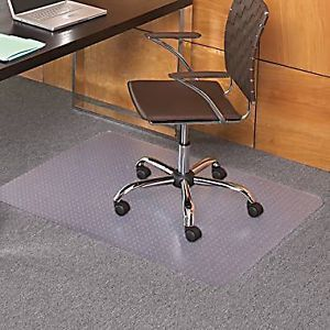 Heavy Duty Office Floor Protect Carpet Chair Mat Clear 48 x 60 inch Protector