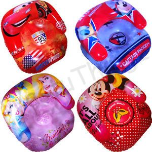 Disney Cars Princess Mickey Minnie Mouse Childrens Kids Inflatable Chair