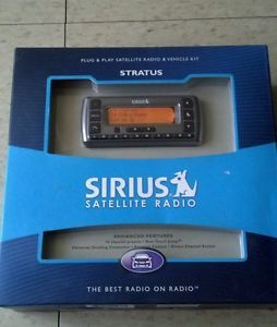 New Sirius Stratus SV3 TK1 Plug Play XM Satellite Radio Receiver w Car Kit