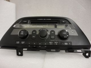 Honda Odyssey 6 Disc Changer  CD Player Radio Aux Stereo Factory 1GU0