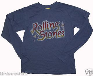 New Authentic Junk Food Rolling Stones Tattoo You Boys 2fer Shirt