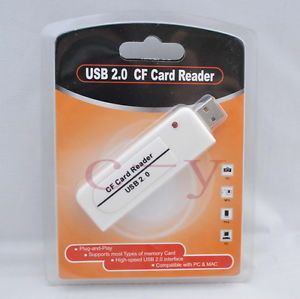 High Speed USB 2 0 CF Compact Flash Card Reader High Quality 100 New