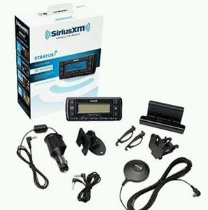 New Sirius XM Stratus 7 SSV7V1 Satellite Car Radio Receiver with Vehicle Kit