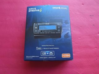 New Sirius XM Stratus 6 Dock and Play Satellite Radio Receiver with Car Kit 884720011740
