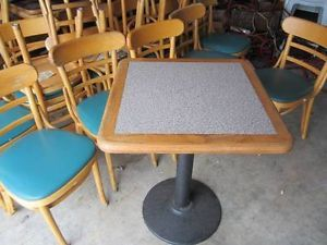 Used Commercial Tables and Chairs